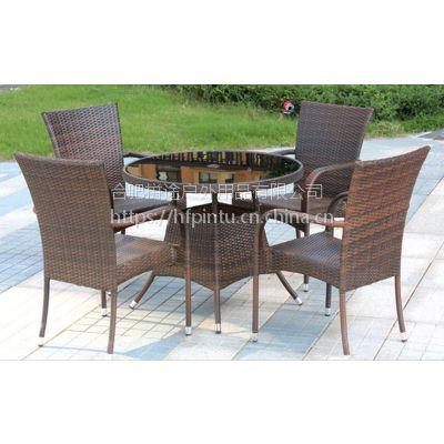 合肥户外桌椅,室外休闲桌椅伞组合