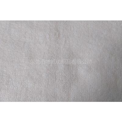 东莞厂家供应全涤毛巾布 双面毛巾布 医疗家纺面料