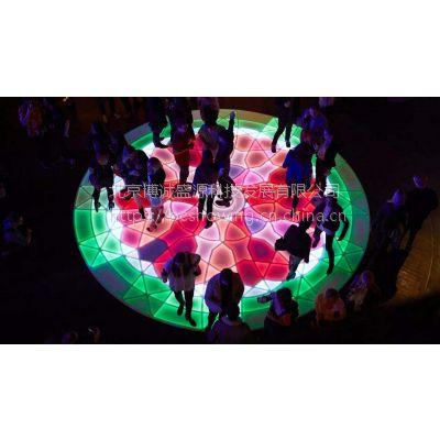 动感地面互动灯光建设