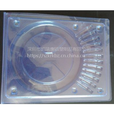 凯瑞康供应销售终端包装PVC材质12芯光纤跳线吸塑对折盒