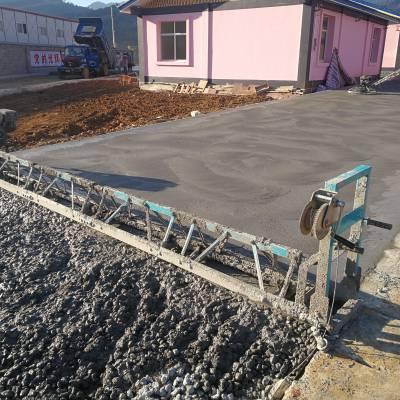 5.5米组合框架式振动梁 混凝土整平机 路面摊铺机 乡村公路振动梁