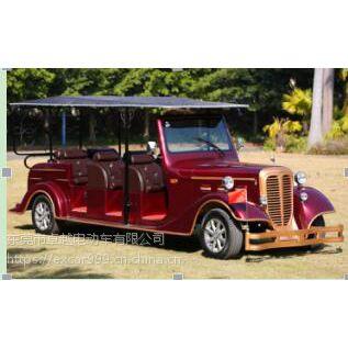 卓越国宾款G1L12 11座豪华电动老爷车,免维护电池,进口电控!