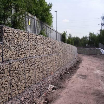 边坡防护石笼网 格宾石笼生产厂家 格宾护岸