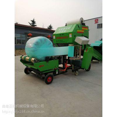 SL系列打捆裹包机厂家直销 圆草料青贮打捆机
