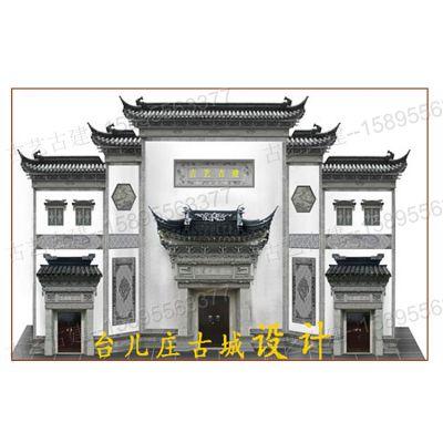 贵阳砖雕摆件青砖砌块砖雕门楼