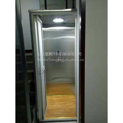 复式户型专用小型简易电梯