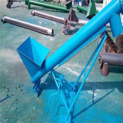 常德耐磨定制螺旋提升机 兴亚混泥土上料机选型参数