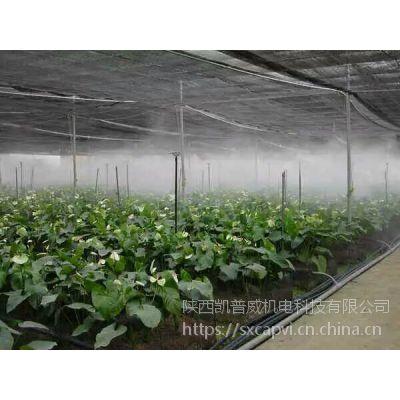 喷雾降温设备都用在哪些地方凯普威喷雾加湿