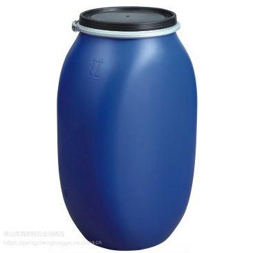 全新化工包装桶 125L扁铁箍桶 大胶桶 扁桶 HDPE 珠三角可送货(佛山)