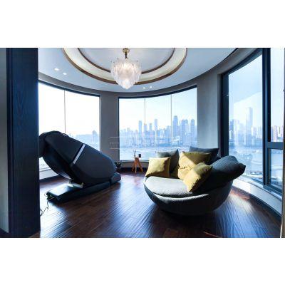 重庆皇冠国际装修|160平米大平层装修设计兄弟装饰南坪店电话