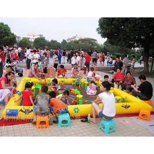 辽宁儿童游乐选择充气决明子沙滩池玩具全套