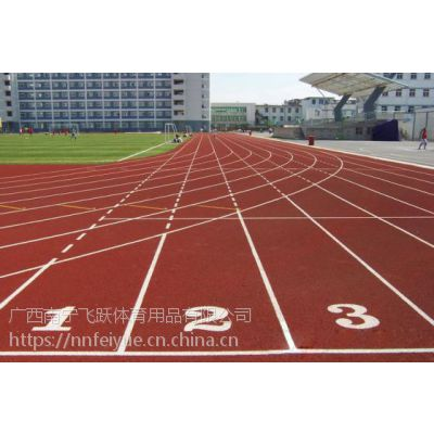 广西南宁运动跑道 塑胶跑道工程项目合作选南宁飞跃体育