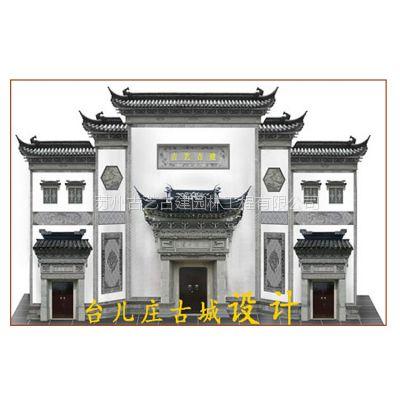 砖雕门楼 大型砖雕别墅 室外泥塑