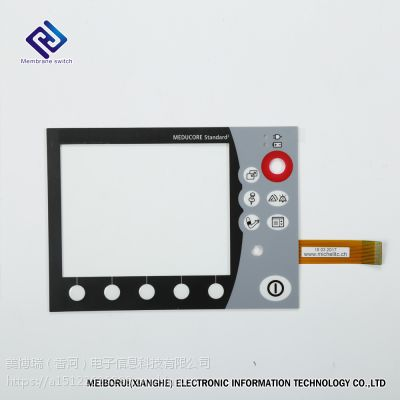 专业订制MBR薄膜开关、薄膜面板、PVC,PC,PET面板,