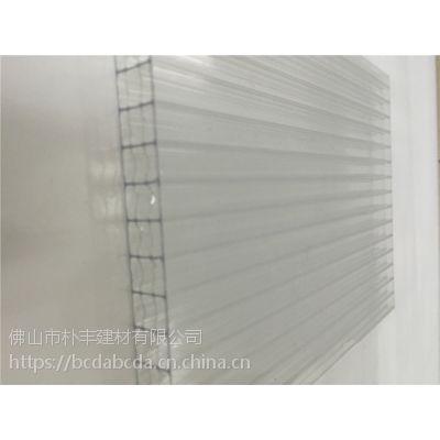 20mm透明pc阳光板,库存四层6-20mm透明全新料阳光板