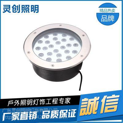 甘肃金昌偏光LED地埋灯工厂家 高亮度散热好格-推荐灵创照明