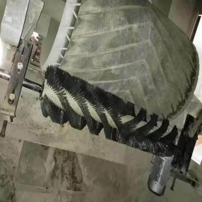 济宁国龙电动毛刷清扫器型号 皮带输送机清扫器