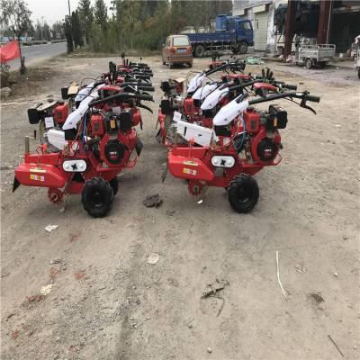 186柴油田园管理机 大葱种植开沟培土机