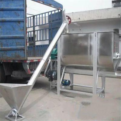 大同粉料专用螺旋提升机生产厂家 兴亚芝麻上料机参数