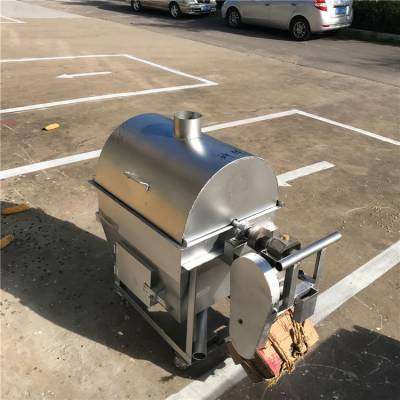 芝麻坚果专用炒货机加厚滚桶炒货机