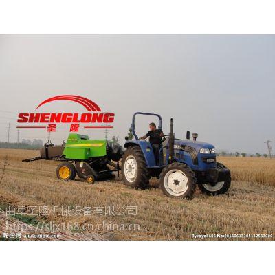 行走式麦秸捡拾方捆打捆机 牵引式打捆机厂家