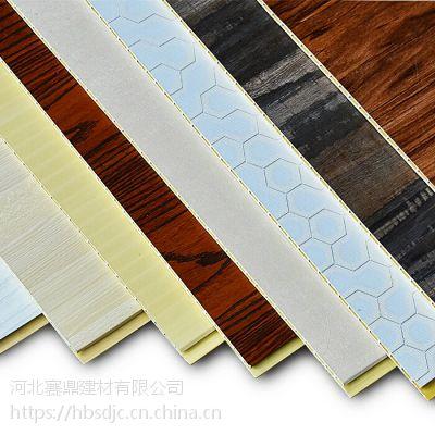 河北竹木纤维集成墙板木塑板木纹1804
