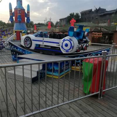 新款电动漂移摇摆船广场时代冲浪儿童玩具室内商场迷你飞车