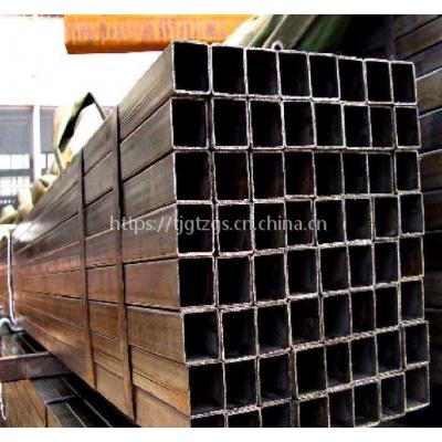 供应大无缝天津200*200*8.0方管201不锈钢方管