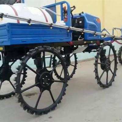 25马力四驱打药机价格 液压撒肥喷药机 水旱两用的喷药机