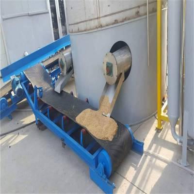 多功能皮带输送机生产制作 兴亚散料圆管输送机厂家