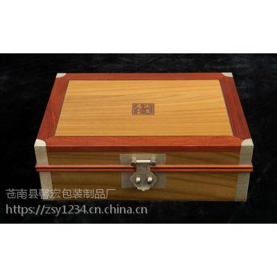 专业定制 高档茶叶包装盒 精美木制礼盒 通用工艺木盒 批发特价
