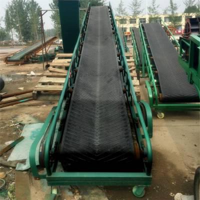半挂车装卸水泥用皮带输送机 600宽12米长移动式运输机 兴运