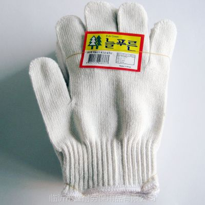 纱手套600克 山东线手套 加厚型棉纱手套 灯罩棉十针临沂鑫耐特防护手套