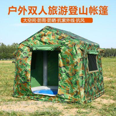 WHJC五环精诚5-8人户外旅游野营露营充气帐篷 自驾游越野一族车载充气帐篷