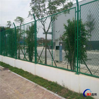 厂家处理/防爬护栏网/钢板网防护网/菱形孔围栏/可根据客户要求定做