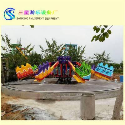 弹跳机游乐场设备超刺激公园游乐设备三星厂家直销