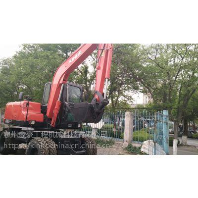 75轮式挖掘机