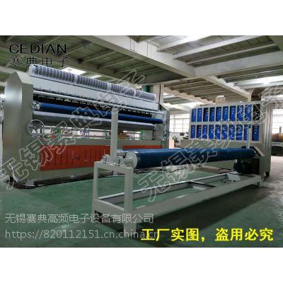 赛典专业生产超声波羽绒服,棉衣面料绗棉机,大衣绗缝里衬压棉机