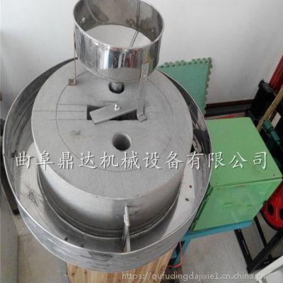 商用定做面粉石磨全自动面粉石磨河南五谷杂粮磨面机