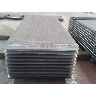 济宁国龙堆焊高铬耐磨衬板 复合耐磨板 龙门焊6+6双金属