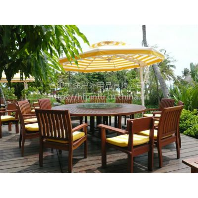 合肥户外实木桌椅,防腐木桌椅,室外露天休闲桌椅