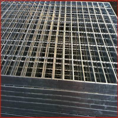 麻花钢格板 金属沟盖板 沟盖钢格板生产厂家