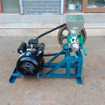 供应大米食品机 玉米渣子膨化机 整粒玉米膨化机
