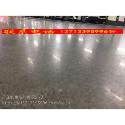广州人和、江高车库水泥地翻新——耐叉车行走