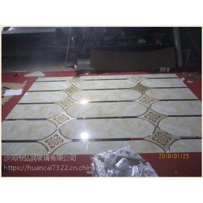 玄关走廊电视背景墙玻璃装饰拼镜 水晶立体墙贴客厅墙贴