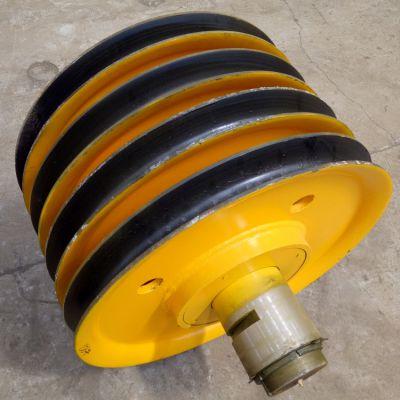 起重机滑轮组批发 100t大吨位滑轮 图号G124 吊钩抓斗专用 亚重