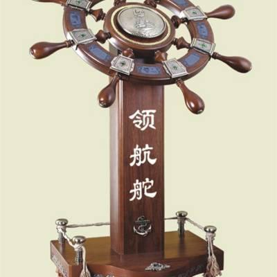 供应实木材质落地大摆件,公司企业开业祝贺大摆件,上海生产木质大摆件的厂家,领航舵批发