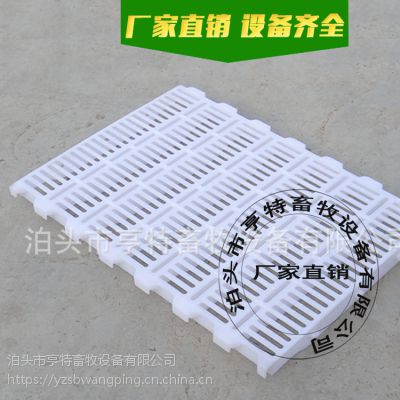 猪舍保育床专用双筋塑料漏粪板 亨特塑料板定做尺寸