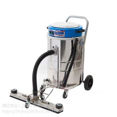 双马达不锈钢吸尘器 Naico A60 耐柯干湿两用工业吸尘器70L