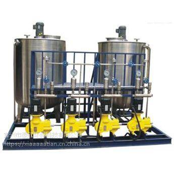 豪欣制造印染厂加药一体化自动加药设备